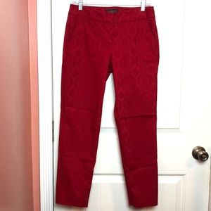 Talbots Pants - Talbots | Patterned Straight Leg Pants